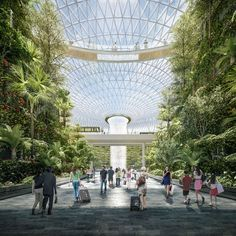 moshe safdie's jewel airport expansion in singapore