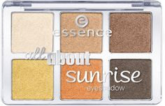 New Beauty Budget Essence All About Eyeshadow Palettes