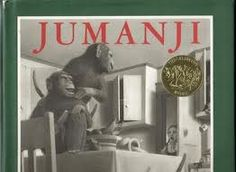 Jumanji is a classic children's book, by Chris Van Allsburg, about 2 children that discover an ordinary-looking board game that turns their world upside down. Jumanji is the 1982 winner of the Caldecott Medal. Jumanji Book, Free Epub, Author Studies, Mentor Texts, This Is A Book, Children's Picture Books, Big Picture, Children's Literature, Teaching Literature