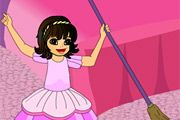 pink room clean up | Agame - Agame Games