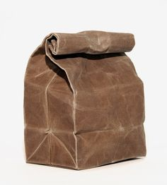 Waxed Canvas Lunch Bag by WAAM Industries