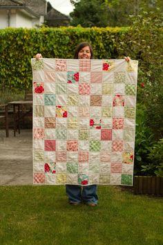 baby quilt by Saidos da Concha