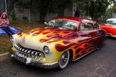 1950 Mercury Lead Sled by Michelle Classic Hot Rod, Classic Cars, Rat Rods, Cadillac, Old Hot Rods, Pinup, Mercury Cars, Lead Sled, Sweet Cars