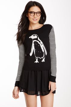 Kensie Penguin Sweater on HauteLook