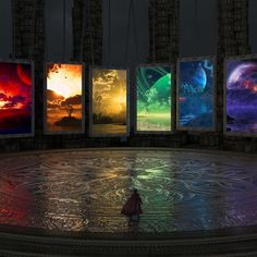 Amazing. Which doorway would you choose?