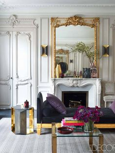 If silky textiles, gleaming gold, luxe accents and traditional silhouettes set your soul ablaze, your home decor personality is classic glam
