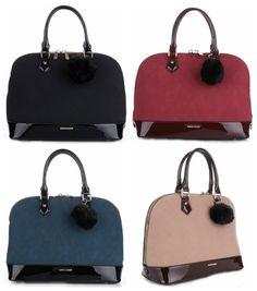 83a2191c158bd Dziewczyny, pojawiła się piękna NOWOŚĆ w naszym sklepie :) Mega modne  kuferki z pomponami