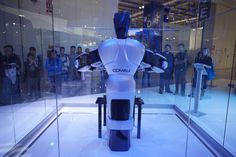 #Comau is at EMO Milano from October 5-10, 2015. Comau see how we're redesigning automation with our innovative #robotics and #powertrain solutions! #emomi15
