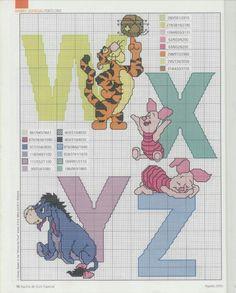 Wxyz cross stitch
