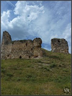 Ruins of the medieval castle at Cogolludo (Guadalajara, Castile-La Mancha, Spain), built in the 11th century and partially destroyed in 1811
