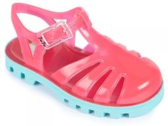 Raspberry Mint Jelly Shoes