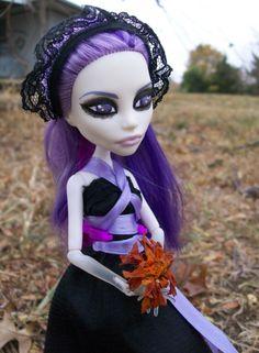 someone's custom version of Spectra Monster High doll