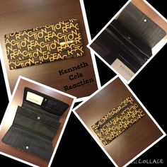 Kenneth Cole NWT brown wallet just in Kenneth Cole wallet NWT Kenneth Cole Reaction Bags Wallets