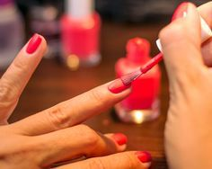 The Super Simple Trick for a Long-Lasting Mani - Apply vinegar to your bare nails before painting to make the polish last longer.