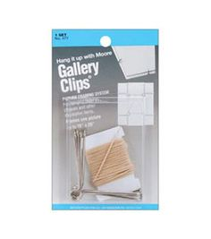 Gallery Clips 1 Set/Pkg