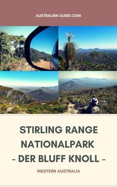 Der Stirling Range Nationalpark bei Albany in Western Australia. Wir erklimmen den höchsten Berg Western Australias und wandern den Weg zum Bluff Knoll hoch. Spektakuläre Aussichten und großartige Landschaft erwarten dich hier. Viel Spaß beim Lesen & Entdecken!