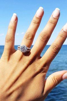 High Quality Idée Et Inspiration Bague De Fiançailles : Image Description 24 Most Popular  Engagement Rings For Women ❤ See More: Www.weddingforwaru2026 #wedding  #engagement ...