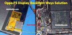 """Oppo Display Light Ways Backlight Jumper Solution Oppo LCD Light Not Working Problem Repair Solution Display Ways Repairing__for the """"Oppo Iphone Repair, Mobile Phone Repair, Block Diagram, Light Emitting Diode, Color Lines, New Model, New Technology, Kenzo, Jumper"""