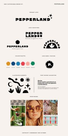 A semi-customisable pre-made brand kit inspired by the and also Henry Matisse's cut-out art. Web Design, Graphic Design Layouts, Graphic Design Posters, Corporate Design, Graphic Design Typography, Layout Design, Graphic Design Tutorials, Brand Identity Design, Brand Design