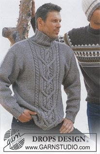 Made to Order Men's Cable Knit Sweater  Hand by KnuttinButYarn, $199.99