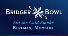 Bridger Bowl, Ski The Cold Smoke, Bozeman Montana One of the 12 Resorts on the Powder Alliance Pass! Get 3 days here FREE when you buy a Premier Season Pass at Snowbasin