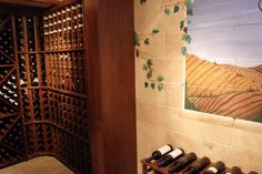 Wine cellar by Carmel Builders in Menomonee Falls, WI