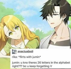 Jumin is mine. Back off snake.<<<Rika your dead back the fuck off