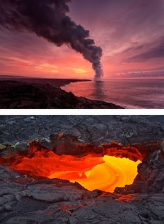 Incredible Lava Photography by Tom Kualii | Inspiration Grid | Design Inspiration