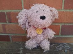 Shaggy crochet dog by JJcraftsalot on Etsy, $20.00