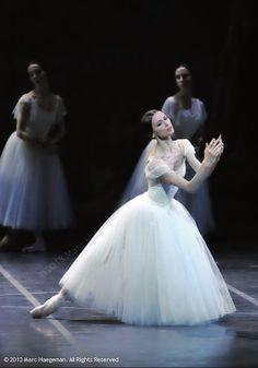 Svetlana Zakharova as Giselle in Rome's Teatro dell' Opera production of Giselle