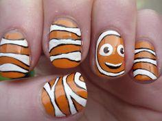 Clown fish #nail #nails #nailart