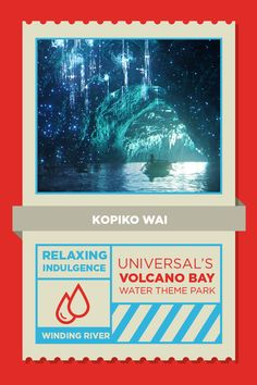 Take a slow ride on the Kopiko Wai Winding River through the tropical landscape of Universal's Volcano Bay, a land full of surprises. Sprays of water surprise along the way, and beneath the lava rocks, Stargazer's Cavern reveals the magical night sky above.