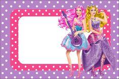 Imprimibles Barbie Princesa y Pop Star.   Ideas y material gratis para fiestas y celebraciones Oh My Fiesta!