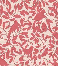 Home decor fabric from @Waverly #sorbet #birdson