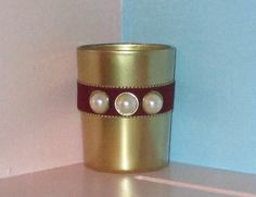Cranberry Wedding / Fall Wedding by CarolesWeddingWhimsy on Etsy, $24.99, set of 6, Cranberry Gold and Pearl Votive Candle Holder - You can find it here https://www.etsy.com/listing/172739899/cranberry-wedding-fall-wedding  https://www.etsy.com/shop/CarolesWeddingWhimsy  https://www.facebook.com/CarolesWeddingWhimsy