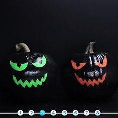 8 No-Carve Pumpkin Ideas // #hallo ween #halloween2017 #halloweenfood #halloweendecor #nifty #diy #pumpkins
