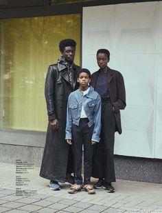 Male Fashion Trends: Formas sólidas, una editorial por Jana Gerberding para L'Officiel Hommes Alemania
