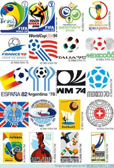 Football ©: World Cup Football Championships:- Posters/Logos. Fifa Football, Best Football Team, Retro Football, World Football, Soccer World, Soccer Cup, Soccer Logo, 2002 World Cup, Fifa World Cup