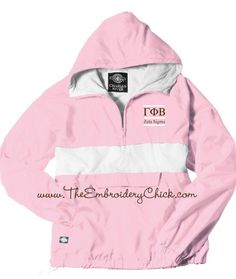 The adorable rain jackets from Spring 2013!  U of SC Gamma Phi Beta