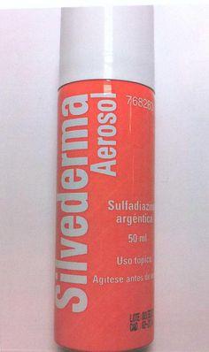nom: SILVEDERMA Aerosol p.a: Sulfadiazina argéntica indicacions: Antibacterià tópic de us general