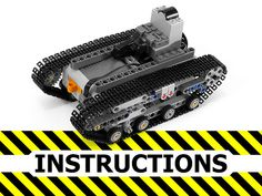 Instructions for RC tank chassis Lego Ww2, Lego Track, Lego Gears, Technique Lego, Lego Machines, Rc Tank, Lego Mindstorms, Lego Mecha, Cool Lego