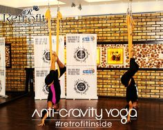 Lift your spirits and your body above the ground with RetrofitHealthcare's anti gravity yoga. It's a great way to connect your mind and body and allow you to relax while above the ground. So visit our center and experience the thrilling AntiGravity yoga. Anti Gravity Yoga, Breathing Techniques, Way Of Life, Connect, Meditation, Knowledge, Relax, Mindfulness, Teaching