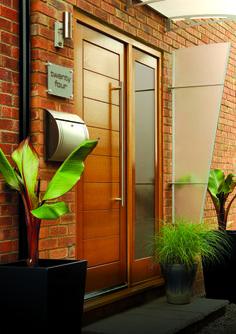 Oak Modena With Sidelight #externaldoors