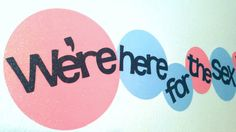 We're here for the sec gender reveal party baby shower decor wall prop super cute!  boy or girl pink or blue boots or bows staches ot lashes, goes with any gender reveal theme