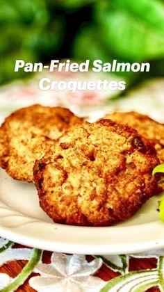 Salmon Recipe Pan, Salmon Patties Recipe, Salmon Recipes, Fish Recipes, Seafood Recipes, Mexican Food Recipes, Dinner Recipes, Cooking Recipes, Fish Patties