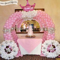 Little Princess Party {birthday cake} -Sweet Cakes by Rebecca Disney Princess Party, Princess Theme, Little Princess, Pink Princess, Cinderella Princess, Princess Cakes, Cinderella Birthday, Princess Birthday, Girl Birthday
