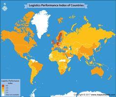 World clock map world maps pinterest geography and time zone map get an insight into the logistics performance index across the world gumiabroncs Gallery
