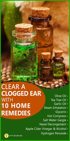 Plugged ear? Do you feel a 'ringing' sensation in your ear? Does your ear pain…