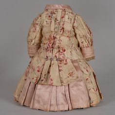 Spectacular Factory Couture Dressed Tete Jumeau Bebe - 20 Inches from beckysbackroom on Ruby Lane