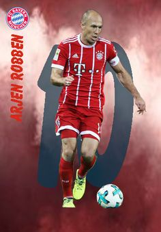 Arjen Robben of Bayern Munich in Soccer Cards, Fc Bayern Munich, Football Players, Messi, Fifa, Recipies, Fictional Characters, Coffee, Everything